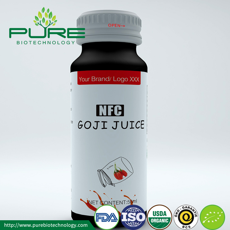 OEM Goji Juice / Concentrate 50ml / botella